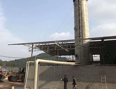 砖厂炉窑脱硫除尘系统