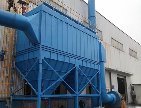 熔炼炉除尘系统