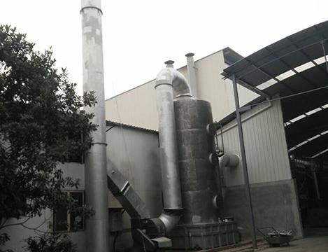 熔炼炉喷淋塔系统