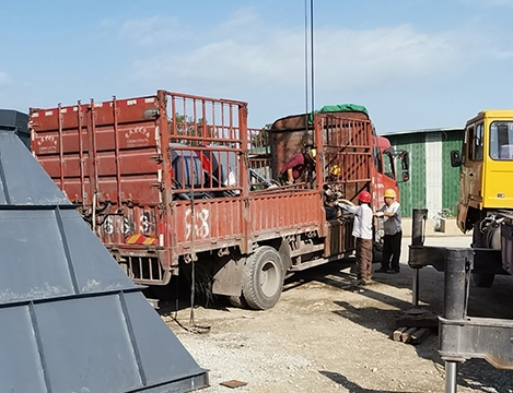 益庆砂石粉尘处理项目工程图片