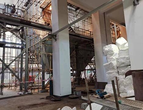 成都第 一污水处理厂电袋除尘器检修项目工程